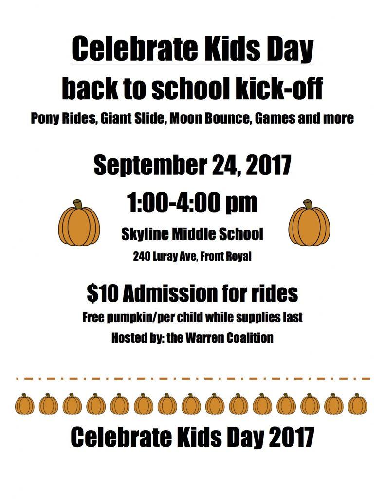 Celebrate Kids Day Flyer