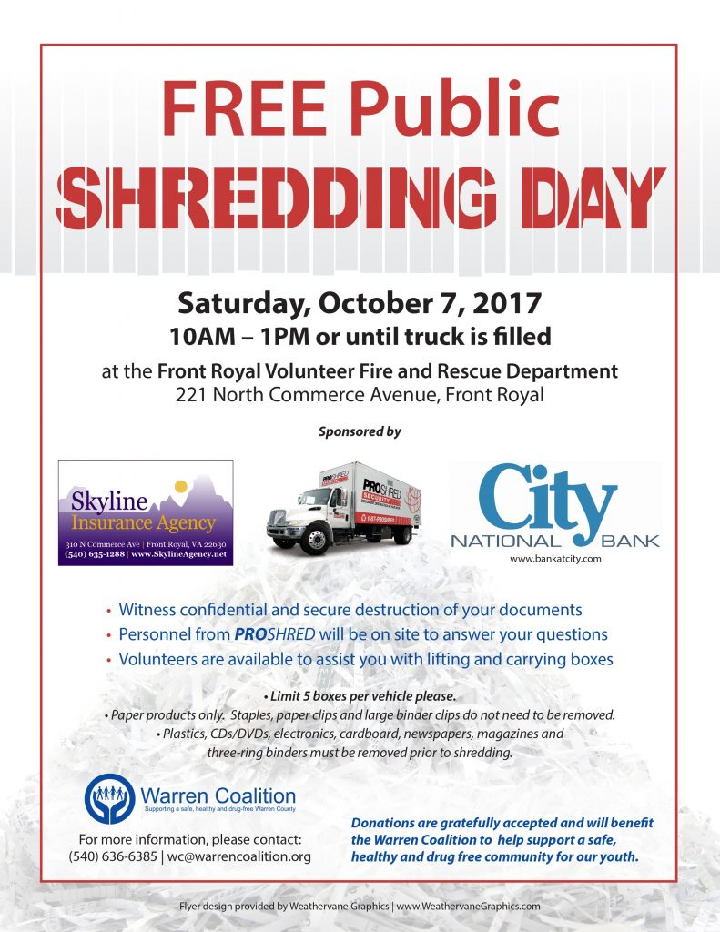 Shred Day Flyer - 2017